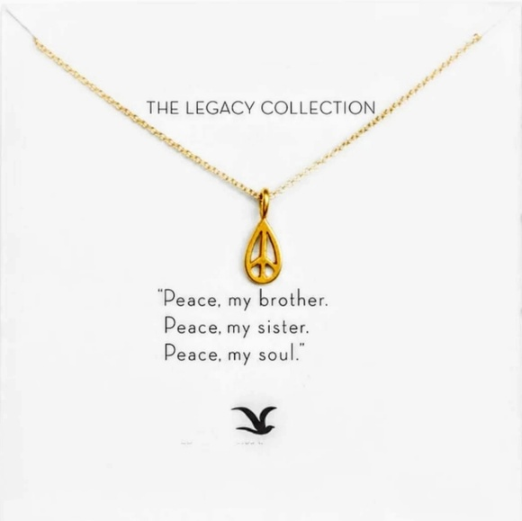 Dogeared Jewelry Maya Angelou Peace Necklace Poshmark